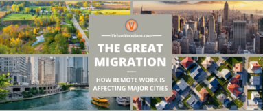 Several cities have seen the Great Migration push workers from urban locations to the suburbs and rural areas.