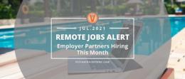 Employer partners alert July 2021