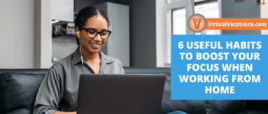 Learn how to boost your focus when you work from home.
