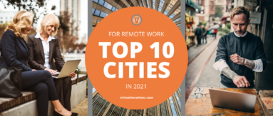 Cities for Remote Work in 2021 - Virtual Vocations Report Top 10