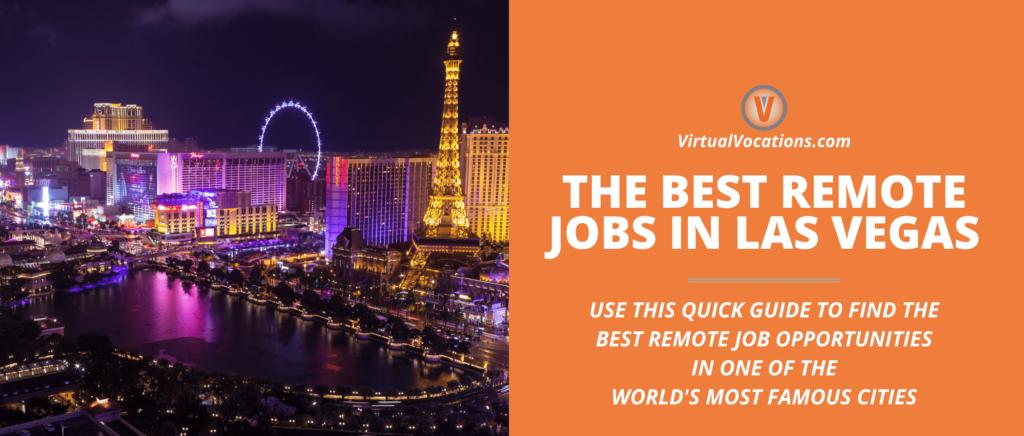 remote jobs in las vegas