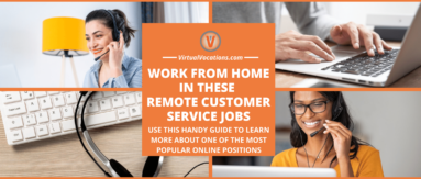 Learn more about remote customer service jobs in this article from Virtual Vocations.