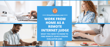 Internet judges working from home