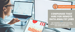 Find out what companies are hiring for remote data analyst jobs