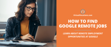 Finding Google remote jobs