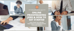Boost your career potential to pursue online proofreading jobs