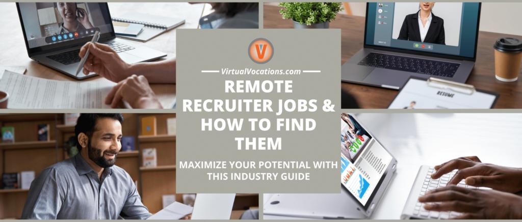 Remote recruiters performing virtual job interviews