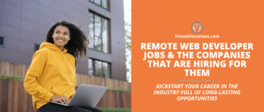 Remote web developer jobs and companies hiring for them