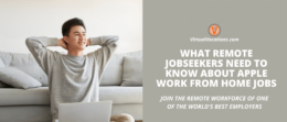 Tap your career potential by applying for Apple work from home jobs