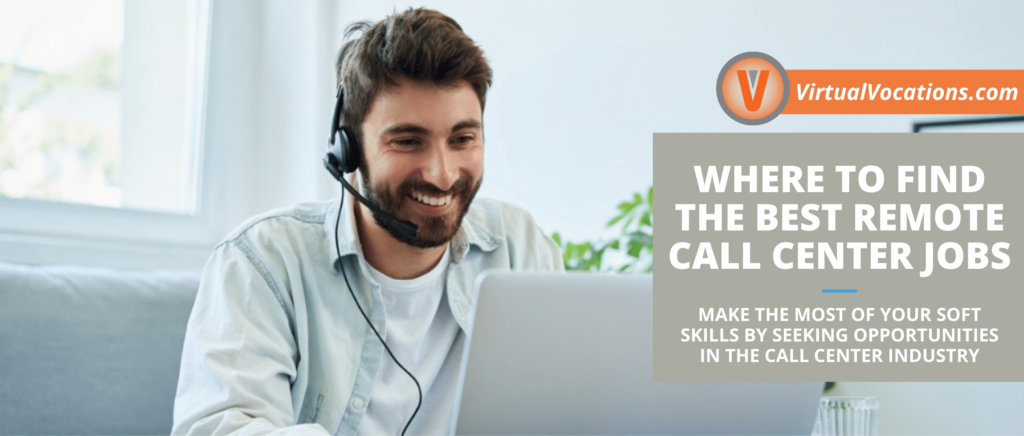 tips on finding remote call center jobs